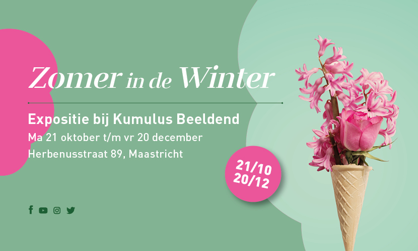 Zomer in de winter expositie
