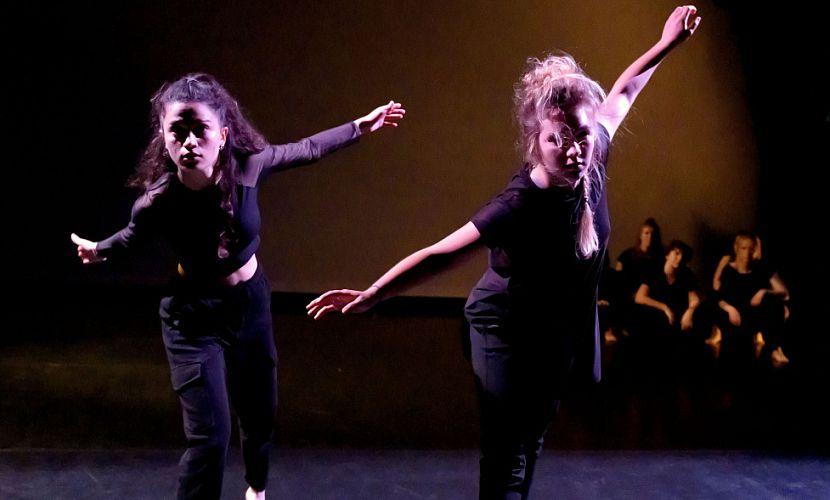 Voorstelling Contemporary Performancegroup